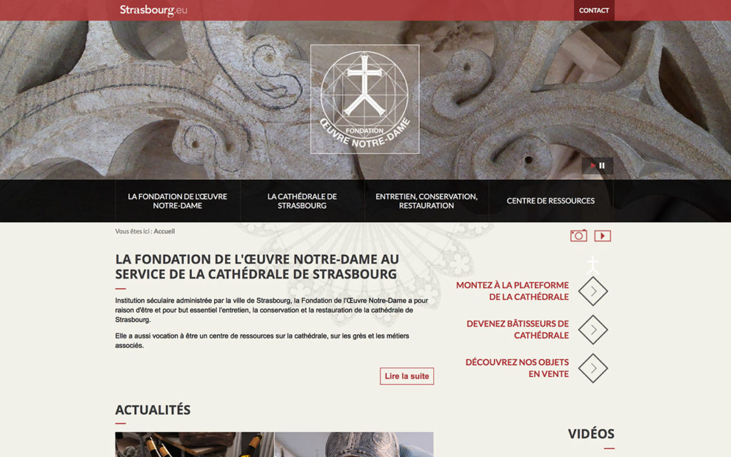 oeuvre-notre-dame.org - Fondation