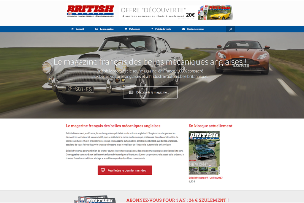 britishmotors.fr - Magazine automobile
