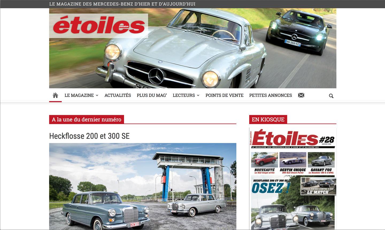 etoilespassion.fr - Magazine automobile