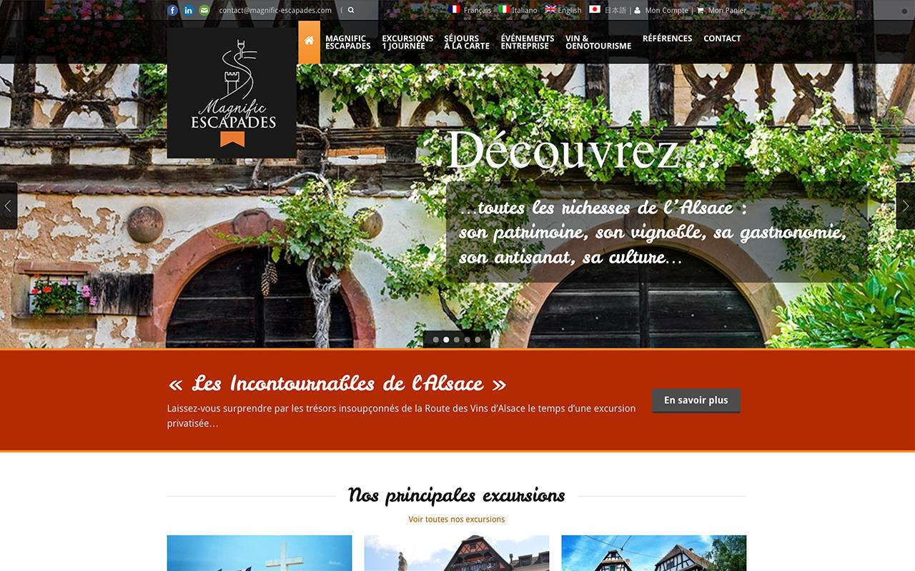 magnific-escapades.com - Oenotourisme et événementiel