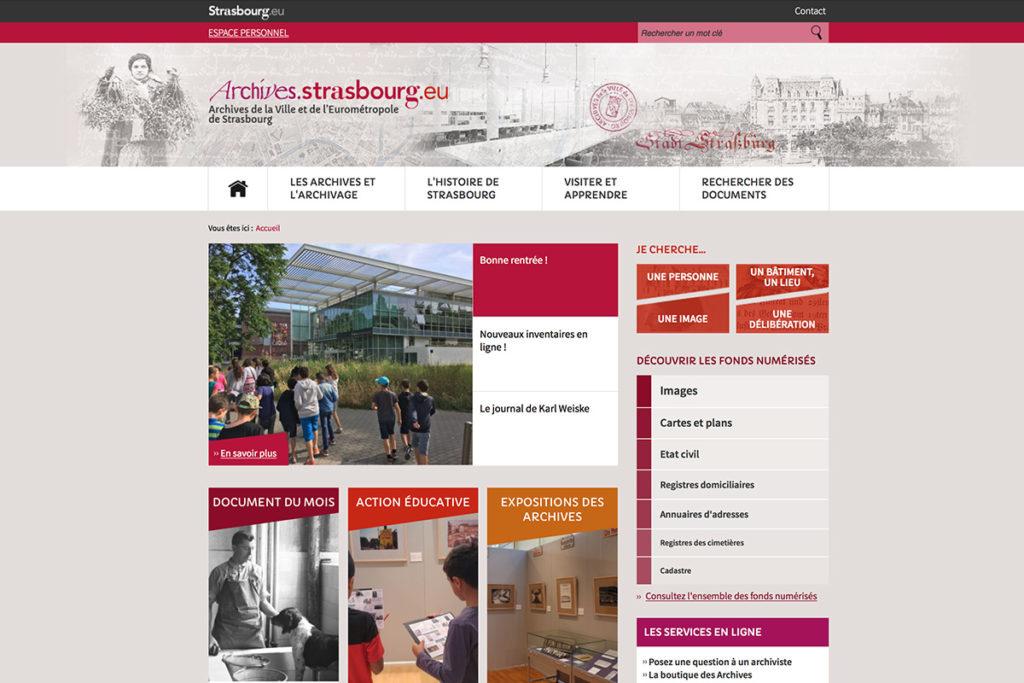 archives.strasbourg.eu - Administration