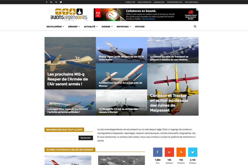 avionslegendaires.net - Encyclopédie et actualités aéronautiques
