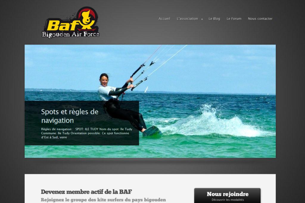 baf-kite.org - Association de kitesurf