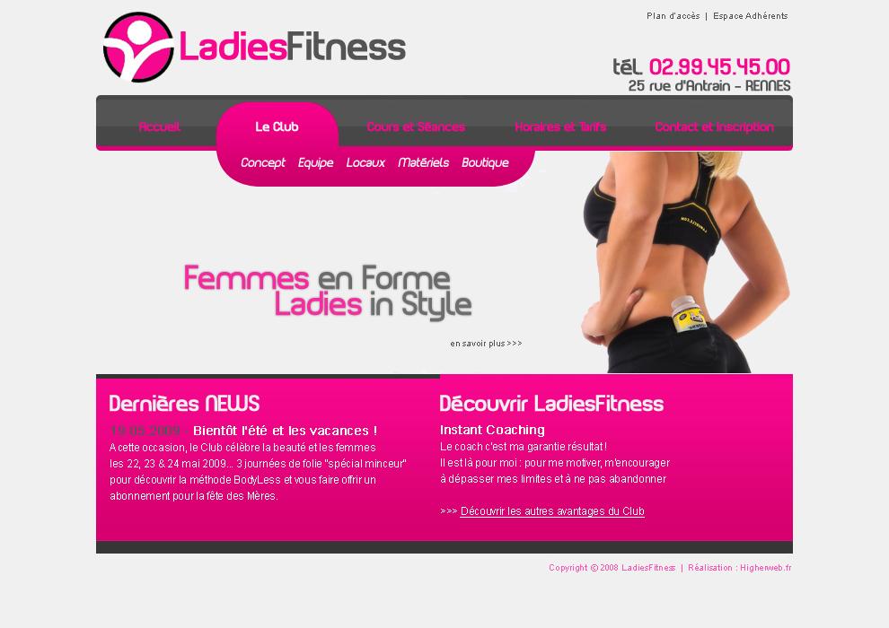 ladiesfitness.fr - Club de remise en forme