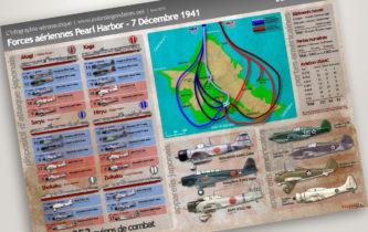 Pearl Harbor 1941 : forces aériennes en présence