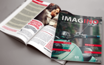 Magazine Imagino - Brochure A4 32 pages