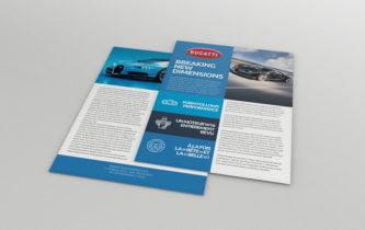 Flyer Bugatti Chiron - A4 R/V