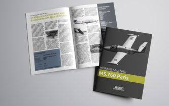 Brochure Avionslegendaires - A3 ouvert pli central