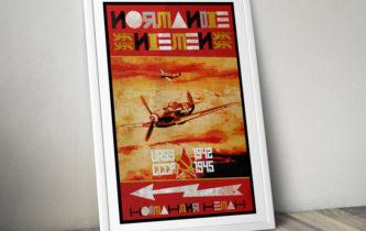 """Poster """"Normandie-Niemen 1942-1945"""""""