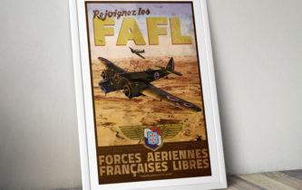 "Poster ""F.A.F.L. – Syrie, 1941"""