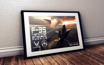 Poster F-35 Lightning